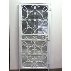 Home design copper and home on pinterest - Iron security doors home depot ...