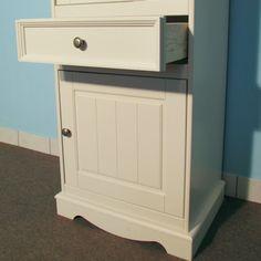 Belluno Prestige glazed narrow display cabinet