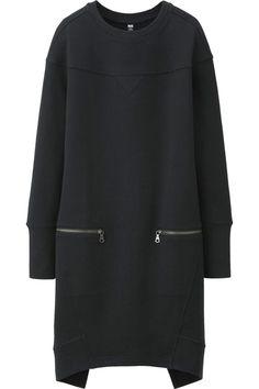 Uniqlo Women Urban Sweat Long Sleeve Dress #Refinery29