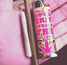 inhale. exhale. roll up, wait a minute Let me put some kush up in it ;)