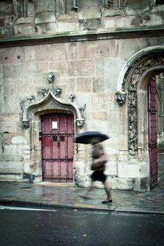 Paris Fine Art Photograph, Rainy Weather - Gothic Rush (4x6). $10.00, via Melanie Alexandra - Etsy.