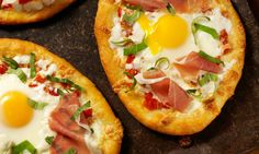 Try this pizza recipe with a poached egg and you won't be disappointed