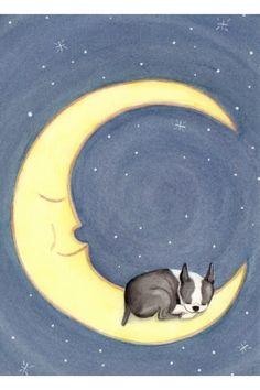I'll love ya till the moon and back Via Etsy