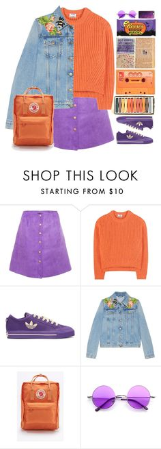 """""""Energizer"""" by doga1 ❤ liked on Polyvore featuring Acne Studios, Raf Simons, Gucci, Fjällräven, Retrò and Casetify"""