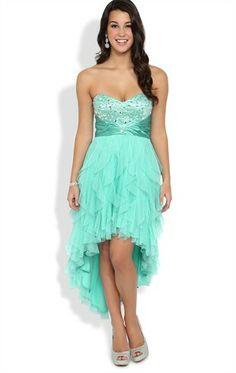873eb0c6933 This in the right blue for my bridesmaids! Junior Homecoming Dresses
