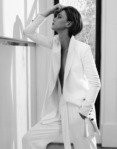 White Suit….Crista Cober Wears 'Pure & Simple' Elegance, Lensed By Alique For The Edit May 7, 2015