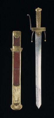 Sword for cadets at the Ecole de Mars. French, dated 1794