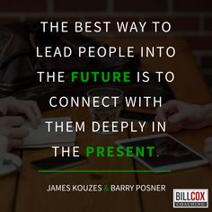 The best way to #lead #people in the #future ....