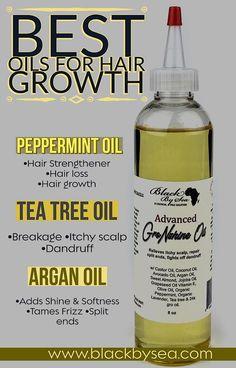 GroNshine Natural Hair Growth Oil Advanced