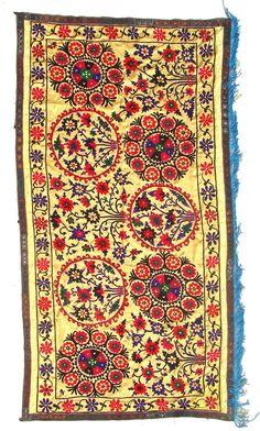 Handmade Vintage Suzani NL2094