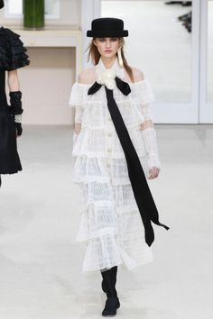Chanel Fall 2016. See all the best runway looks from Paris Fashion Week here:
