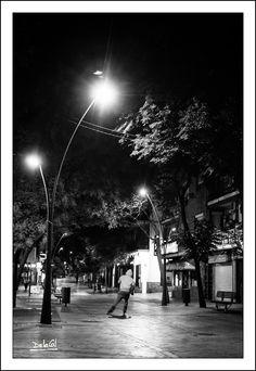 278/365 - Patinando por la vida. Miguel A. de la Cal. Alcorcón. DelaCal. www.fotobodadelacal.es
