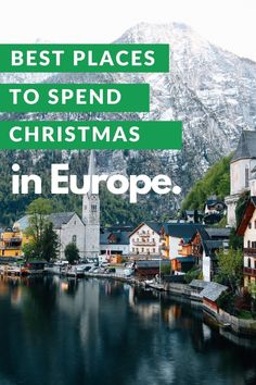 If you're in desperate need of a winter escape, or the travel bug just can't wait for summer, then book yourself a ticket to one of the best places to spend Christmas in Europe. #Christmas #Europe #traveltips #travelbug #mindful #travel #transformational Europe Travel Tips, Spain Travel, European Travel, Winter Travel, Holiday Travel, Christmas Travel, Christmas Destinations, Winter Destinations, Travel Destinations