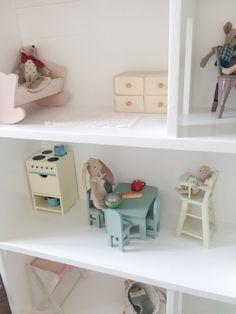Doll house. Maileg bunny, rabbit, mouse