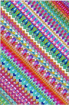 sendoff | multicolor pattern