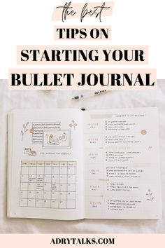 Starting your bullet journal can be very daunting and confusing! Here are 10 essential tips to help you start your bullet journal today. Bullet Journal First Page, Monthly Bullet Journal Layout, Bullet Journal Contents, Bullet Journal Headers, Bullet Journal For Beginners, Bullet Journal Books, Bullet Journal Tracker, Bullet Journal How To Start A, Bullet Journal Ideas Pages