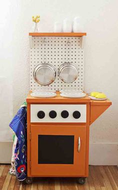 Genial DIY Kid Play Kitchen Designs Give Children Their Own Grown Up Spaces,  Designed And Decorated Especially For Young Cooks
