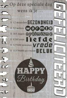 Op deze speciale dag wens ik je ... 12 maanden gezondheid, 52 weken warmte Happy Birthday, Quotes, Optimism, Happy Brithday, Quotations, Urari La Multi Ani, Happy Birthday Funny, Quote, Shut Up Quotes