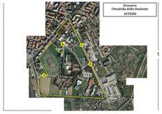 https://flic.kr/s/aHsmfzLSkT | Cittadella dello Studente a Grosseto | Una proposta per migliorare la fruibilità e l'accesso alla Cittadella dello Studente di Grosseto