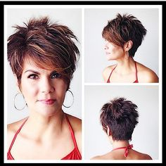"Instagram photo by @reneemstylist (Renee Marie) | Iconosquare [ ""Bildergebnis für short spikey hairstyles for women over"", ""50 Short Hair Style Ideas for Women"", ""❤ 12 New Hairstyle Ideas Collection ❀ Curly, Straight, Curly, Long, Short Hairstyle"", ""pixie with texture/volume"" ] # # #Short #Choppy #Hairstyles, # #Layered #Hairstyles, # #Bob #Haircuts, # #Image #Search, # #Pixie #Hair, # #Short #Hair #Styles, # #Short #Cuts, # #Hairstyle #For #Wom..."