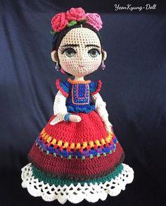 Amigurumi Frida Kahlo Modelleri , Amigurumi Frida Kahlo Models, # Amigurumiyapı my We have prepared very nice knitting toy models. Crochet Dolls Free Patterns, Crochet Doll Pattern, Amigurumi Patterns, Doll Patterns, Crochet Amigurumi, Amigurumi Doll, Crochet Toys, Crochet Baby, Crochet Doll Clothes