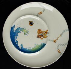 Peinture sur porcelaine - Peinture sur porcelaine, peintures sur verre, fusing, cours, atelier
