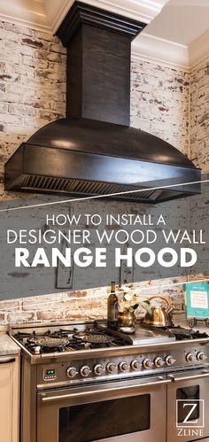 23 Best How-to Installation - ZLINE Range Hoods images in ...