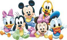 Mickey e Minnie Baby Baby Mickey Mouse, Bolo Mickey Baby, Festa Mickey Baby, Mickey Mouse E Amigos, Mickey Mouse And Friends, Mickey Mouse Birthday, Disney Babys, Cute Disney, Disney Mickey