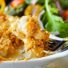 Some may balk at the suggestion of fish & cheese together in this cod au gratin but with truly fresh cod, this dish is delectable; a Newfoundland favourite. Cod Fish Recipes, Rock Recipes, Seafood Recipes, Dinner Recipes, Cooking Recipes, Seafood Meals, Healthy Recipes, Diabetic Recipes, Healthy Food
