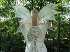 Custom Iridescent Fairy Wings You Pick ANY Color by Jenniveves Halloween Wings, Halloween Cosplay, Halloween Costumes, Fairy Costumes, Faerie Costume, Fairy Photoshoot, Fairy Tale Theme, Fantasy Cake, Mermaid Fairy