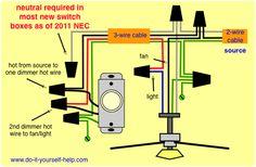 11 best installing a light images electrical wiring ceiling fan rh pinterest com