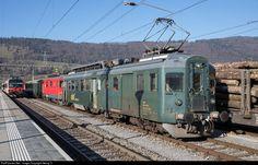 RailPictures.Net Photo: 1641, 111 Depot und Schienenfahrzeuge Koblenz (DSF) BDe 4/4, De 587 at Glovelier, Switzerland by Georg Trüb