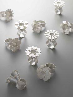 "SEJIN JEONG-NORTH KOREA, ""diamond ring"", diamond, silver, 2014"