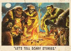 vintagegal:  Horror-Sci Fi Trading cards illustrated by Jack...