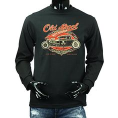 Time for Action 2016 American Vintage Route 66 Classic Car Hot Rod Long Sleeve T-shirts. Route 66, Graphic Sweatshirt, T Shirt, Heather Grey, Classic Cars, Long Sleeve Tees, Action, American, Sweatshirts