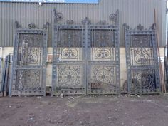 Reclaimed Architectural Items - Frome Reclamation Limited Oak Panels, Wrought Iron Gates, Entrance Ways, Doorway, Carving, Stone, Architecture, Design, Entrance