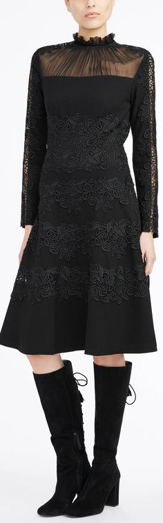 The fit-and-flare Cora Victorian dress.