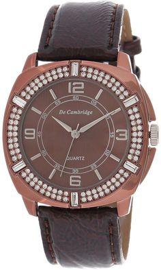 Mashreqworld : De Cambridge Unisex Casual Watch Leather Strap - DC1411-2 price, review and buy in UAE, Dubai, Abu Dhabi | Souq.com