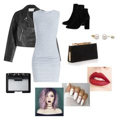 """""""Untitled #201"""" by dawn232 ❤ liked on Polyvore featuring T By Alexander Wang, James Perse, MANGO, Jimmy Choo, Jouer and NARS Cosmetics"""