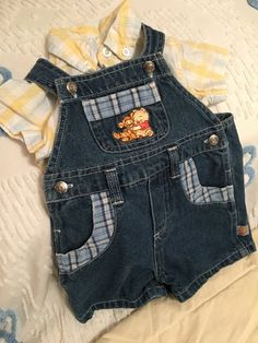 Vintage Overalls Disney Baby and Small by simplepleasantthings