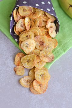 Baked Plantain Chips - gonna serve these with some delish homemade guacamole!!