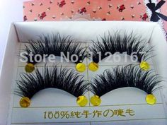 Free Shipping  5 pair/set natural long f false Eyelash lot black Cross Fake Eyelash Soft long Make up Eye lash Extensione
