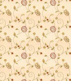 Eaton Square Print Fabric-Dynamic/Beige