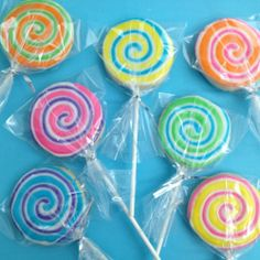 Lollipop cookies. Fun!