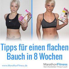 Tipps für einen flachen Bauch in 8 Wochen ohne Diät.