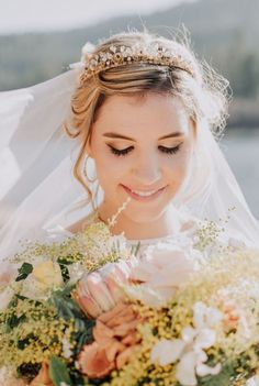 Veils and Accessories by Julie Harris Designs | Lingerie & Accessories in Studio City Wedding Hairstyles For Long Hair, Wedding Hair And Makeup, Hair Makeup, Wedding Braids, Lingerie Accessories, Studio City, Wedding Lingerie, Veils, Design