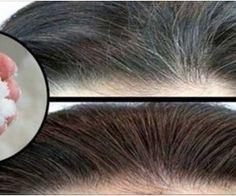 Como escurecer os cabelos com apenas 2 ingredientes - 100% natural! - Receitas Aki