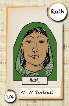 La séquence sur Ruth propose un choeur parlé, ainsi qu'un bricolage (vitrail). Déroulement de la séquence :Ruth Choeur parlé sur Ruth Vitrail :Sieste au trait 2–Sieste au trait 5 jeux de solidarité Ruth et Booz Van Gogh fenêtre