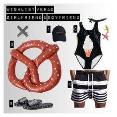 """Summer Girlfriend & Boyfriend"" by bela-carapinheiro-valimaa on Polyvore"