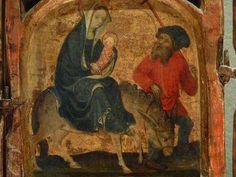 ALLEMAGNE,15e - Scènes de la Vie de la Vierge, l'Enfance du Christ - Détail 17- Fuite en Egypte - Flight into Egypt -